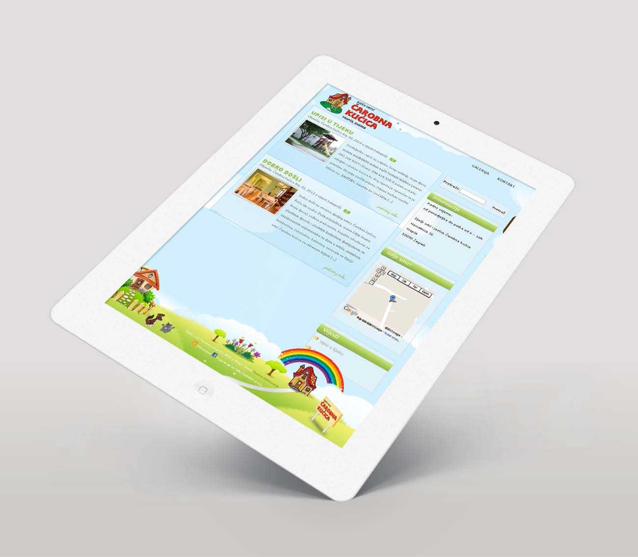 izrada stranice za dječji vrtić