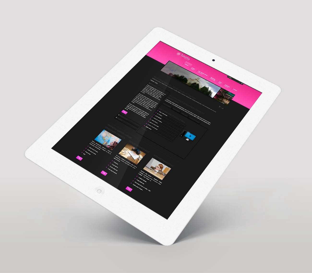 Internet stranica za marketing agenciju