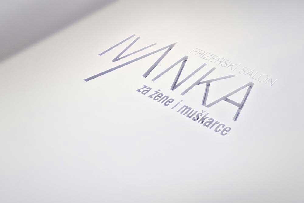 logo za frizerski salon