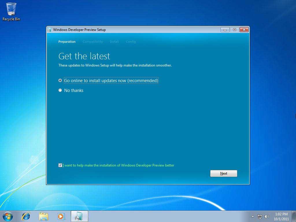 Instalacija windows operativnog sustava