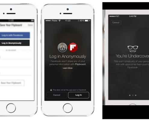 Facebook anonimno logiranje