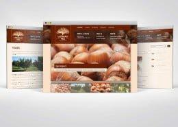 Izrada web stranice za OPG proizvođača lješnjaka