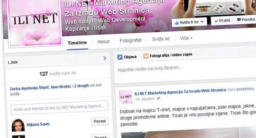 Facebook profil u stranicu