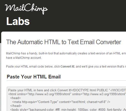 html u tekst