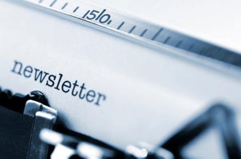 pisanje newslettera