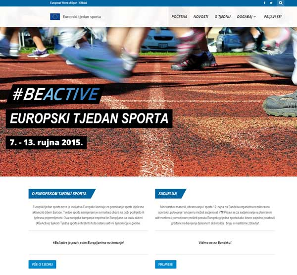 Izrada sportskih web stranica