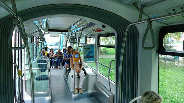 marketing u tramvaju