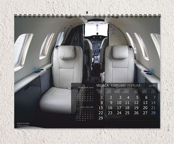 tisak na kalendare