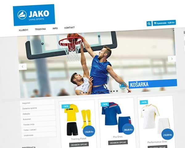 web trgovina za sportsku opremu