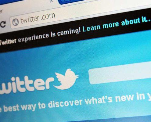 angažman na twitteru