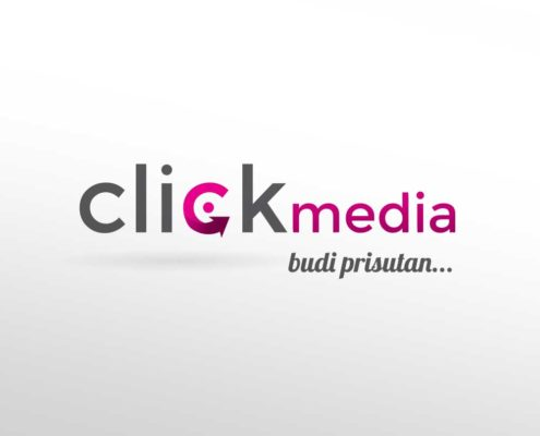 Logotip za Click Media marketinšku agenciju
