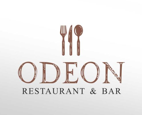 Logotip za restaurant Odeon u Zagrebu