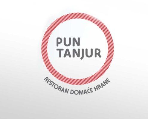 Logotip za restaurant Pun Tanjur