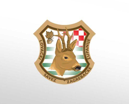 Logotip za Lovački savez Zagrebačke županije