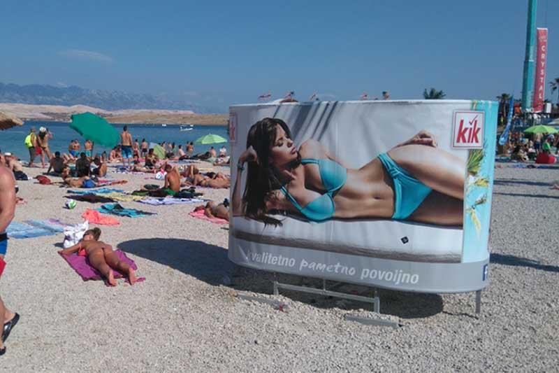 Oglašavanje na plažama