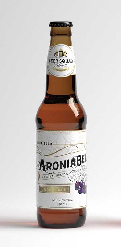 AroniaBeer dizajn boce