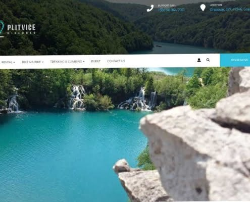 plitvice bike and bed stranica
