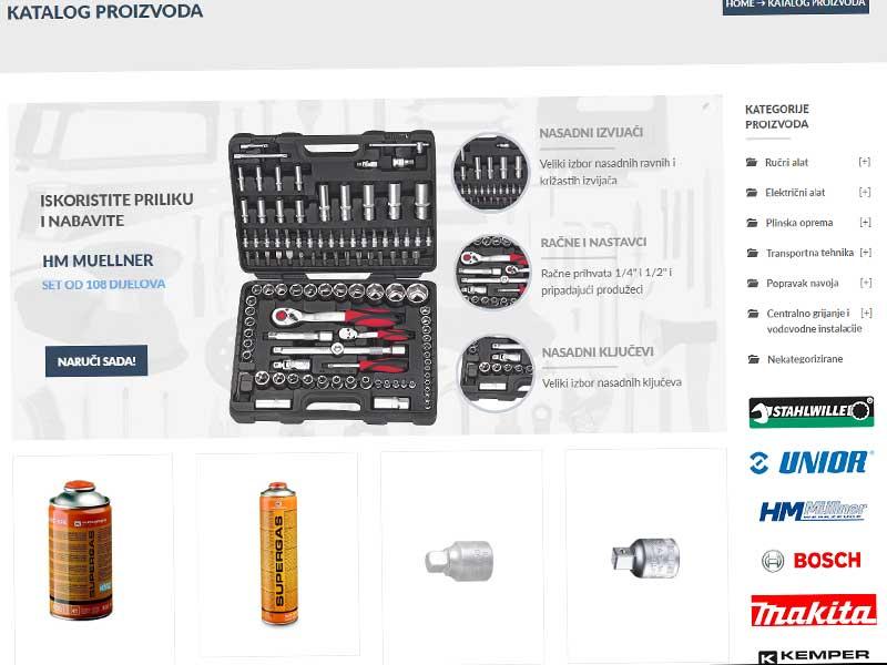 online trgovina alatom
