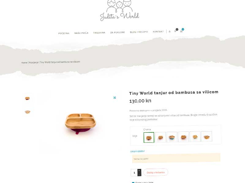 trgovina internetska za posudje od bambusa